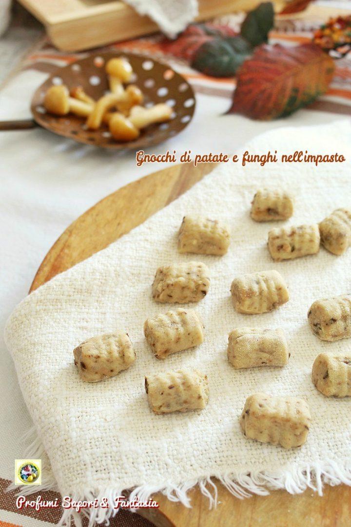 gnocchi di patate e funghi