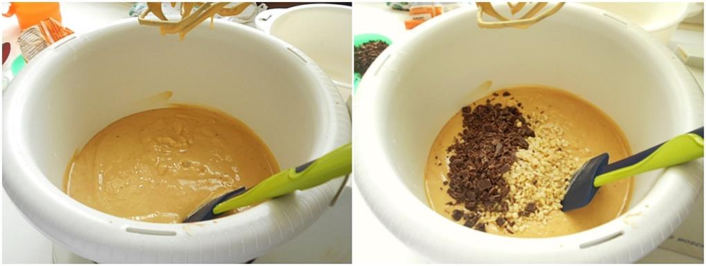 torta alla Nutella con yogurt e mandorle