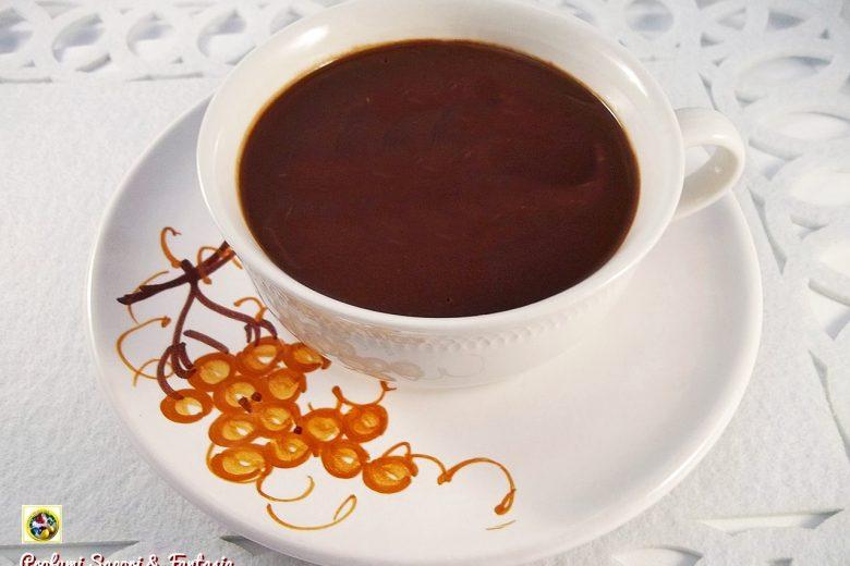 Preparato per cioccolata calda fatto in casa