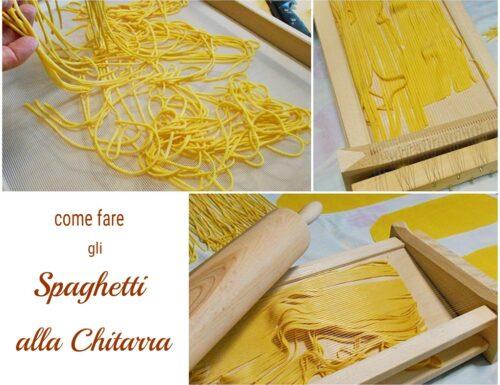 Spaghetti alla chitarra come prepararli in casa