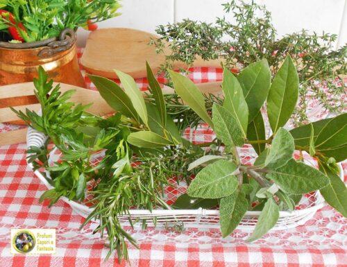 Come utilizzare le erbe aromatiche in cucina
