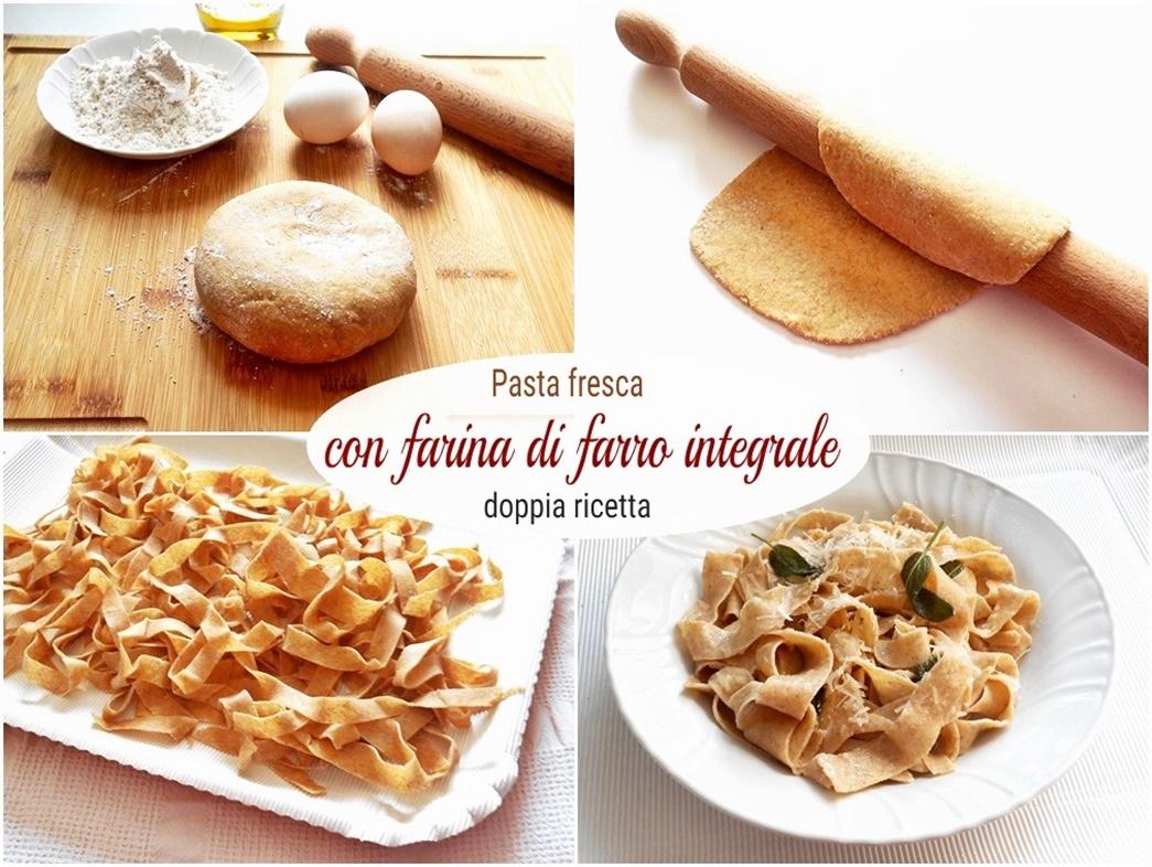 pasta fresca con farina di farro integrale