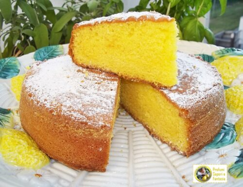 Torta soffice al limoncello