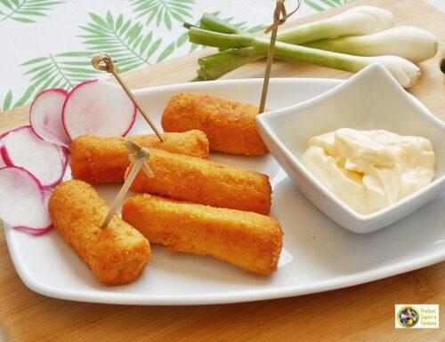 Crocchette con patate ricotta e parmigiano