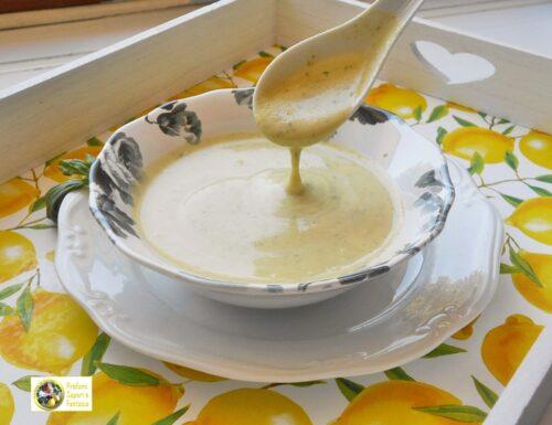 Salsa aromatica di zucchine e patate