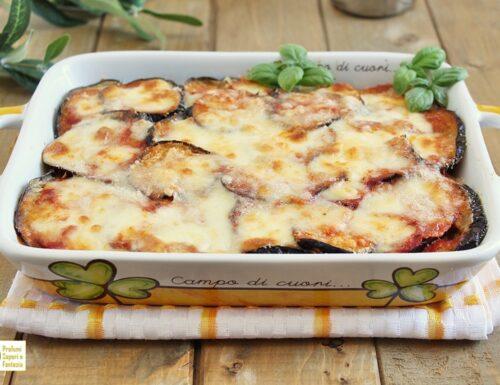Melanzane alla parmigiana tradizionali ricetta di famiglia