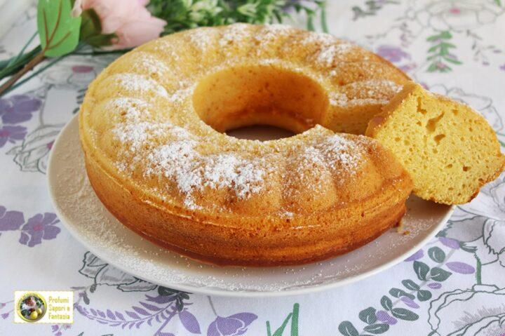 torta di ricotta con miele e limone