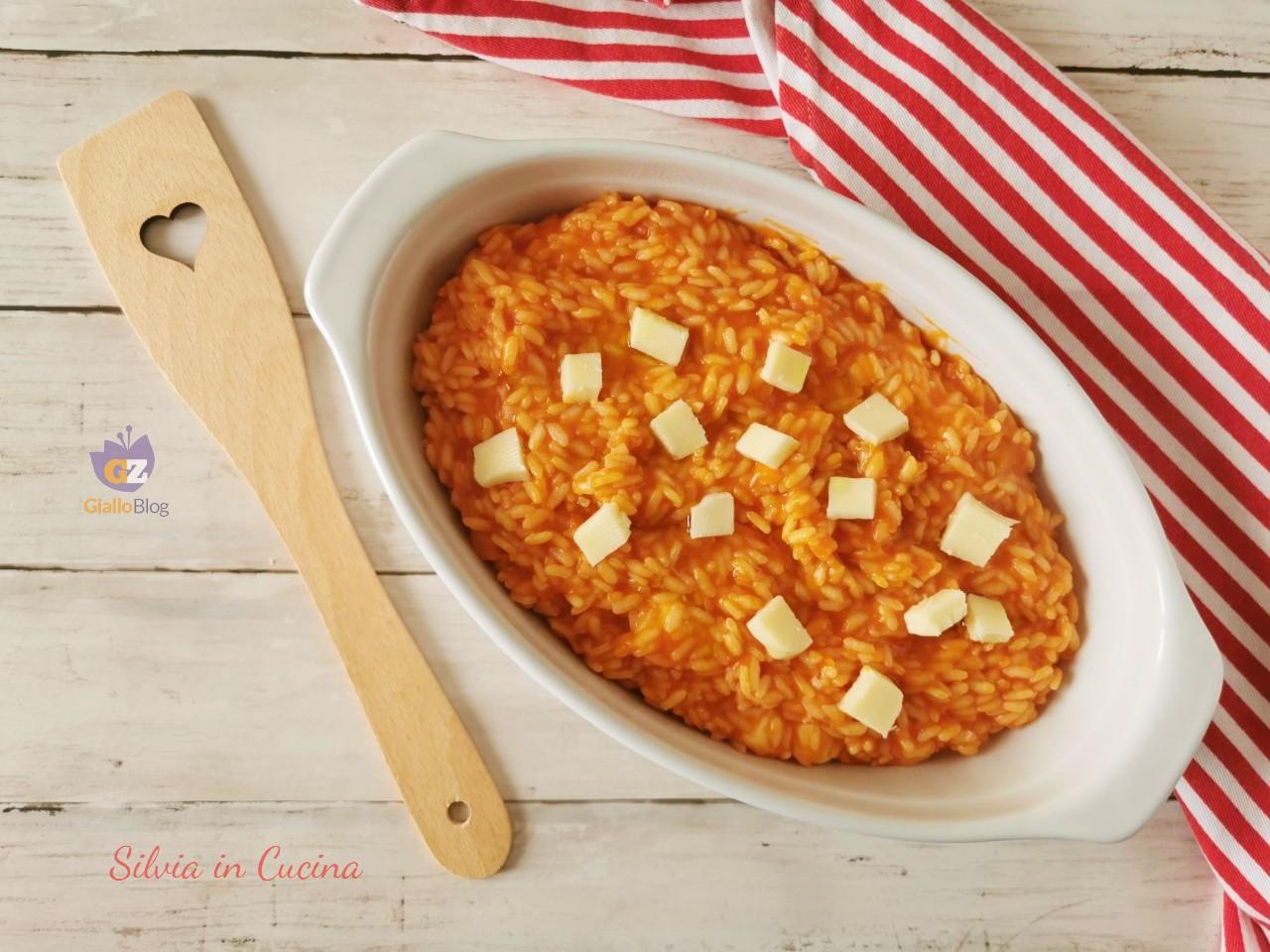 Risotto alla pizzaiola Bimby