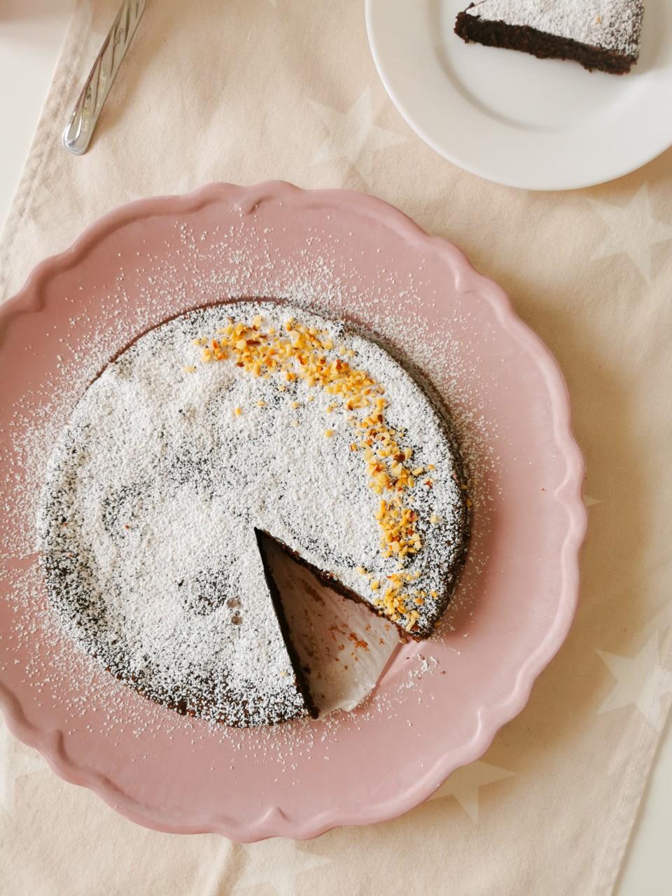 Torta Bimby al cioccolato senza lievito
