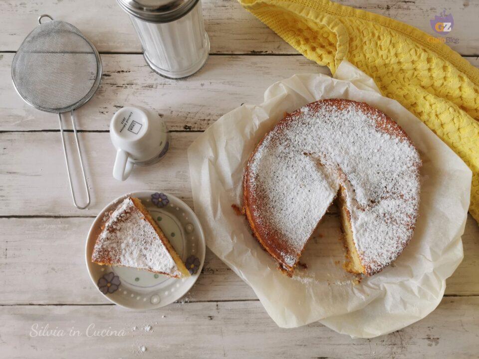 Torta Bimby ricotta e limone cremosa e facile