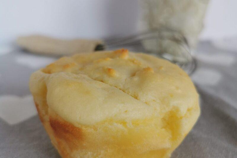 Muffin Bimby salati al formaggio super soffici