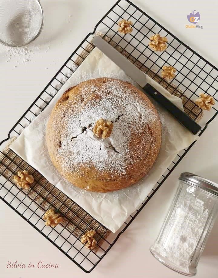 Torta Bimby noci miele e ricotta senza burro