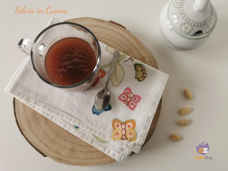 Tisana Bimby cacao mandorle e cannella
