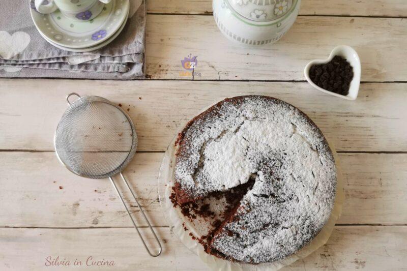 Torta Bimby al cioccolato con albumi senza burro