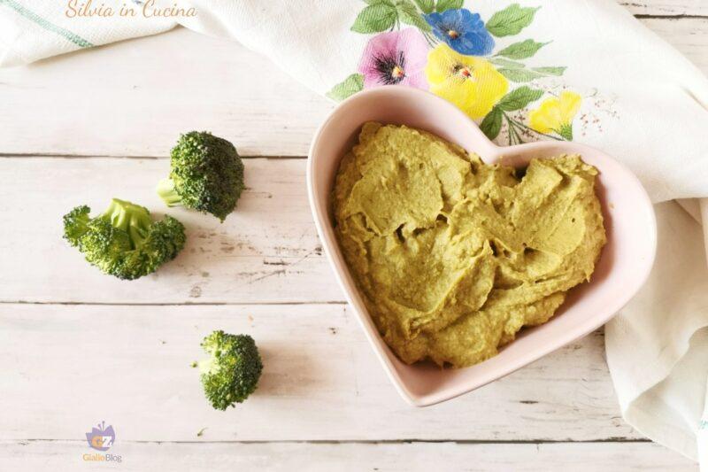Hummus Bimby di broccoli e ceci super cremoso