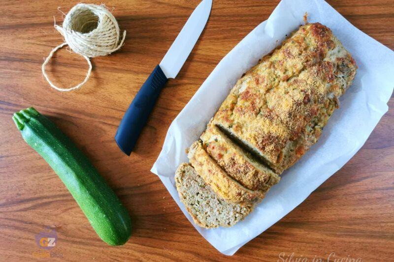 Polpettone Bimby con zucchine prosciutto e scamorza