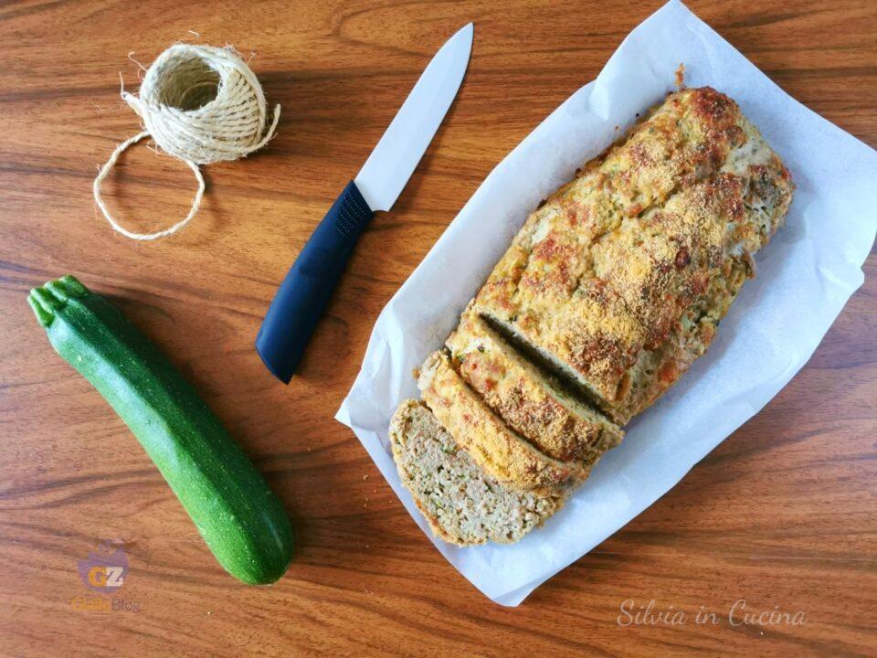 Polpettone Bimby con zucchine, prosciutto e scamorza