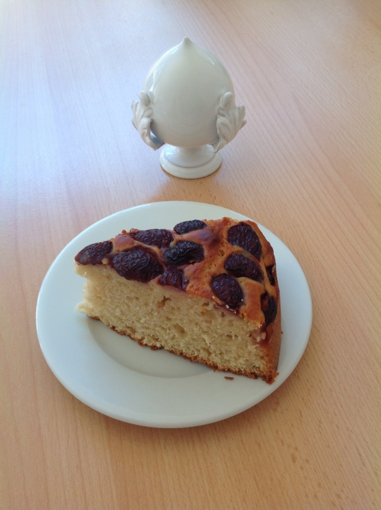 Torta ciliegie e ricotta- Cherries and ricotta cake