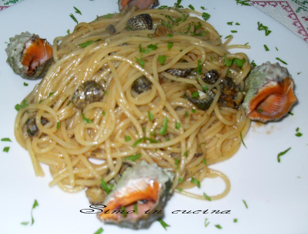 spaghetti agli sconcigli