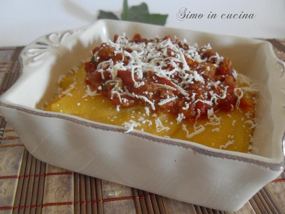 polenta al ragù