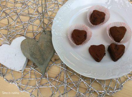 Cuori al cioccolato e mascarpone
