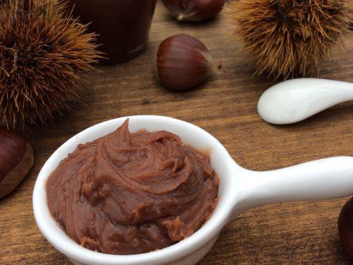 Confettura di castagne e cioccolato fondente