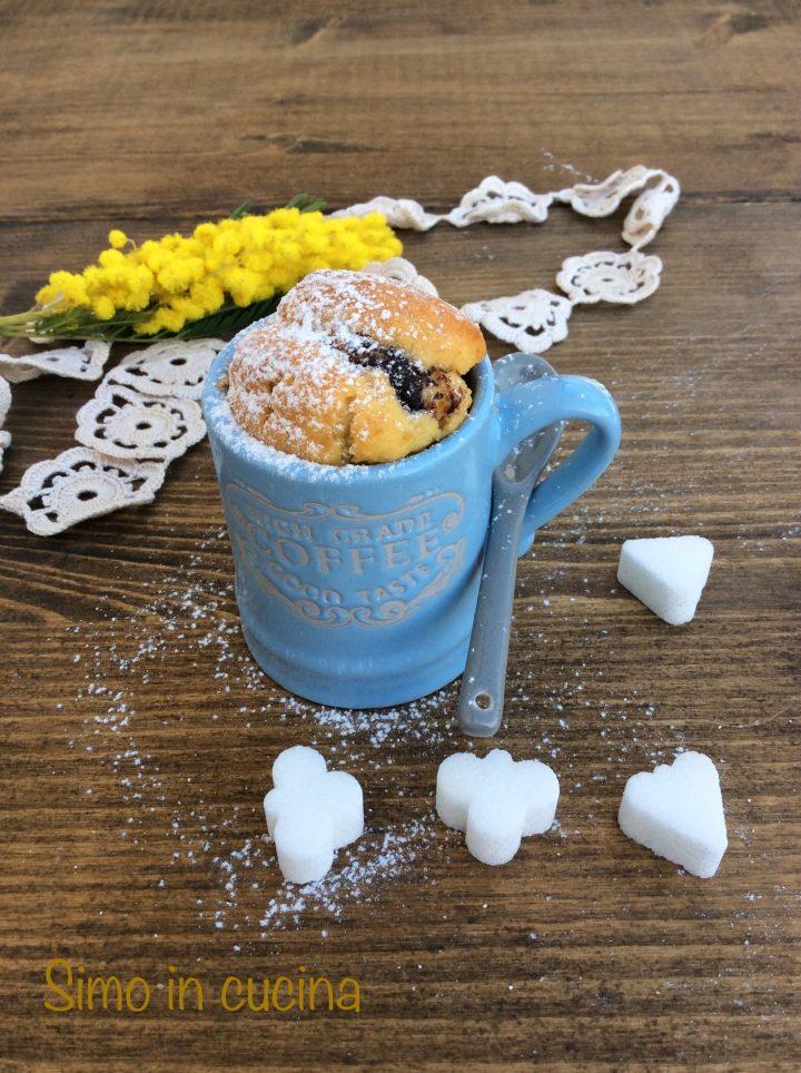 Muffin alla nutella bimby