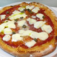 Pizza con lievito madre preparata con il bimby