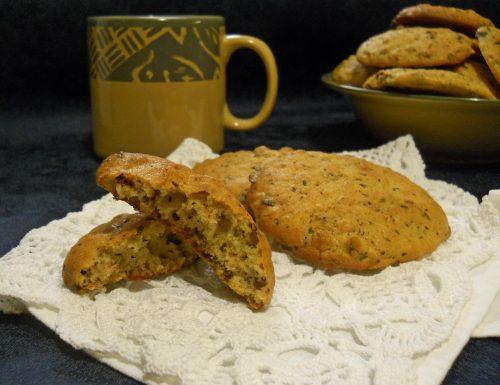 Cookies arancia e cioccolato
