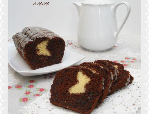 Plumcake al cioccolato e cocco