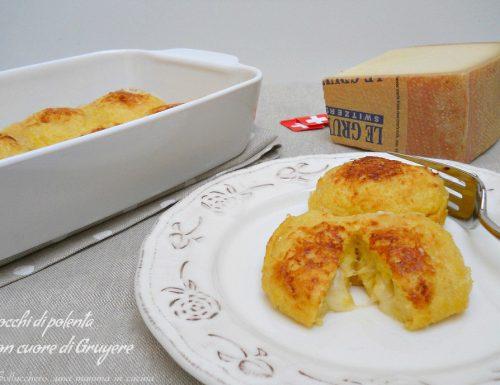 Gnocchi di polenta con cuore di Gruyère