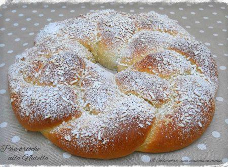 Treccia di pan brioche alla Nutella, ricetta facile e veloce