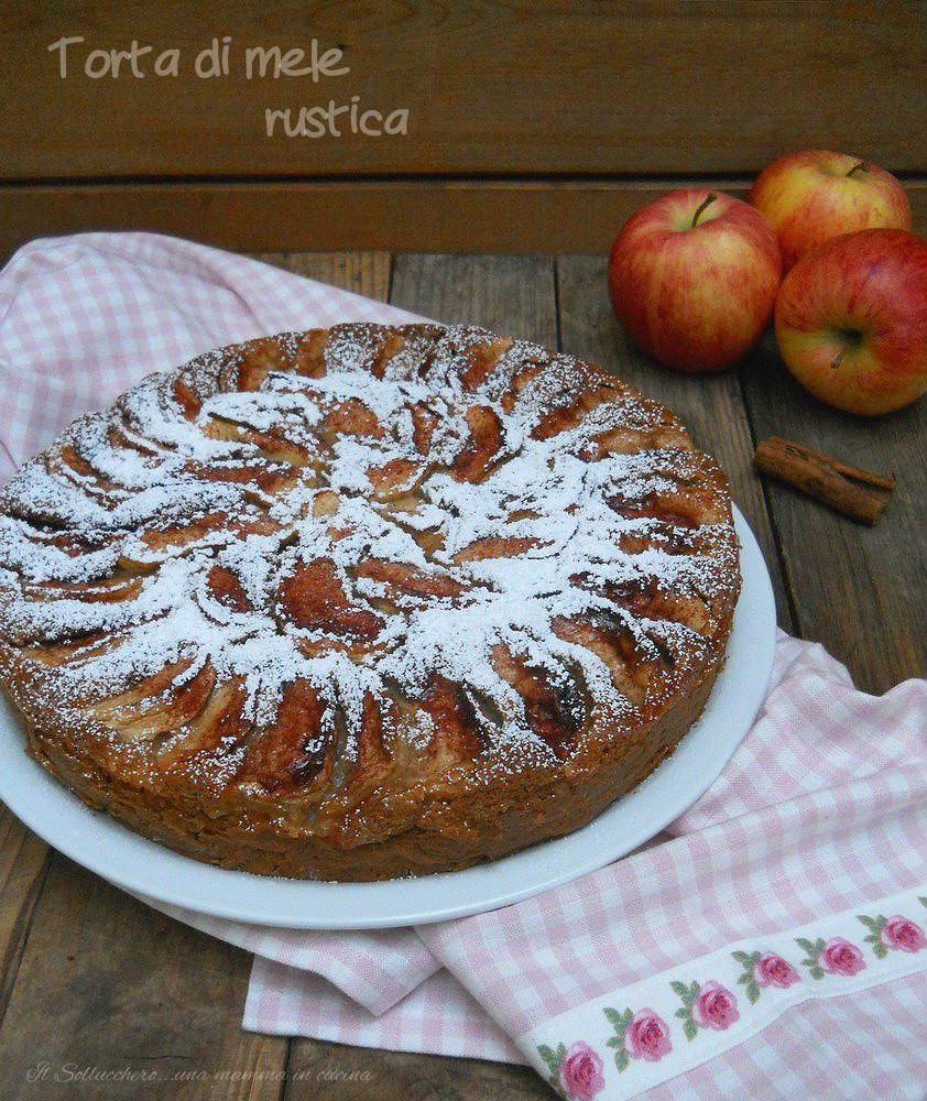 torta di mele rustica def