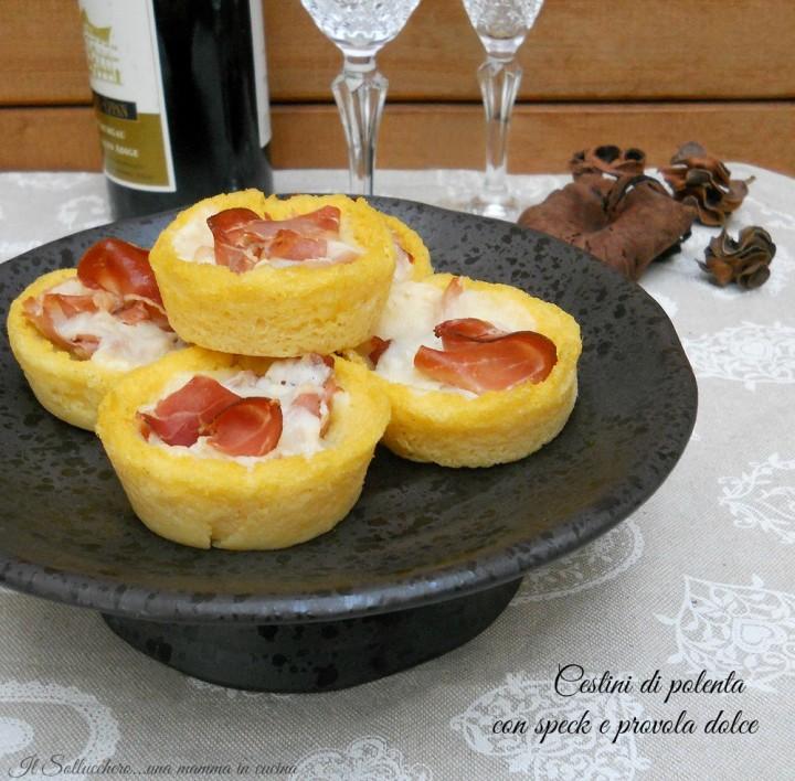 cestini di polenta