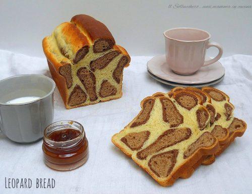 Leopard bread, brioche al cacao e vaniglia