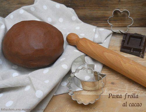 Pasta frolla al cacao di Ernst Knam