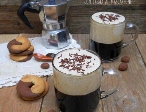 Caffè freddo con crema al mascarpone