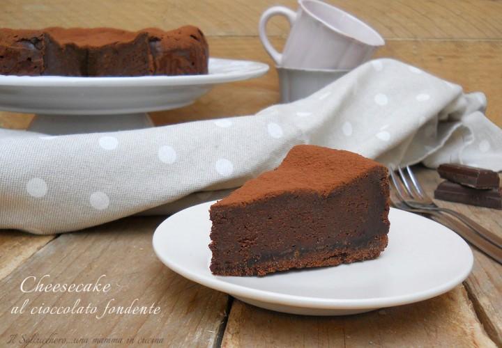 cheesecake cioccolato fondente def