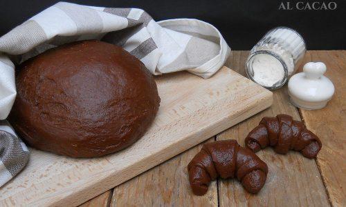 Pan brioche al cacao