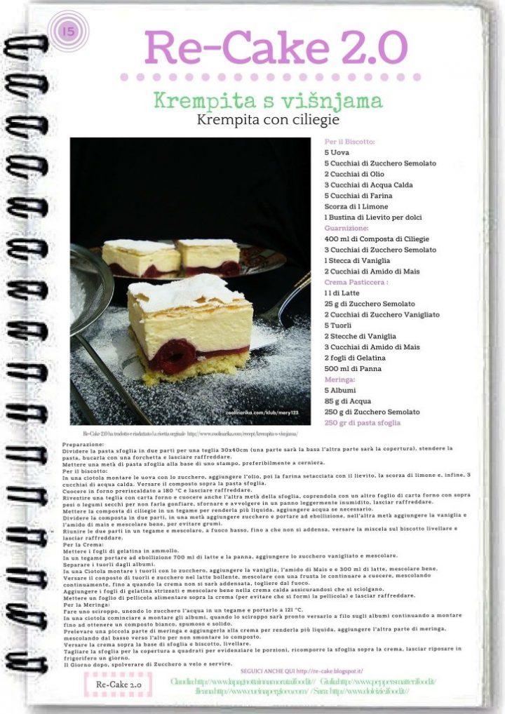 locandina re cake