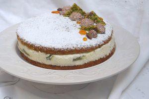 Torta ricotta e pistacchio