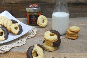 Anelli Olimpici, biscotti di frolla montata di Iginio Massari