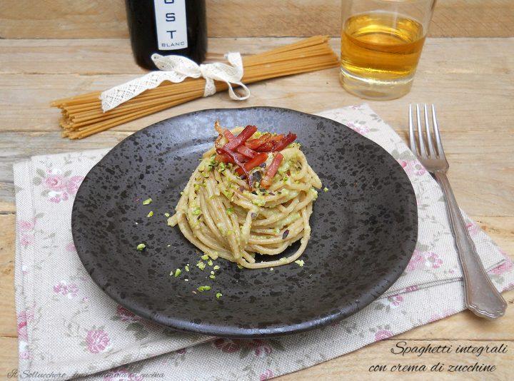 spaghetti integrali con pesto di zucchine def