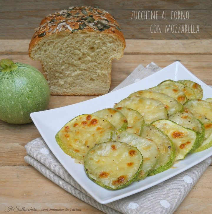 zucchine al forno con mozzarella def