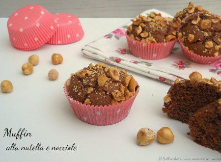 Muffin alla nutella e nocciole
