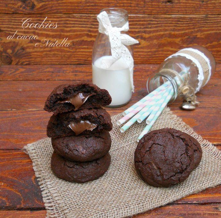 Cookies al cacao e nutella def corretta
