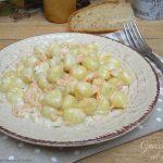 Gnocchi con salmone e mascarpone