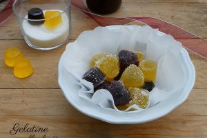 Gelatine alla frutta, caramelle gelée fatte in casa