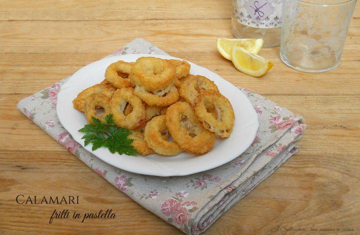 Calamari Fritti in Pastella