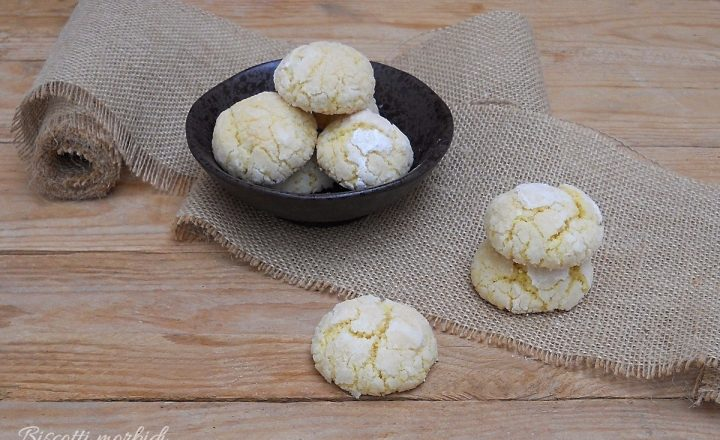 Biscotti morbidi al cocco senza burro